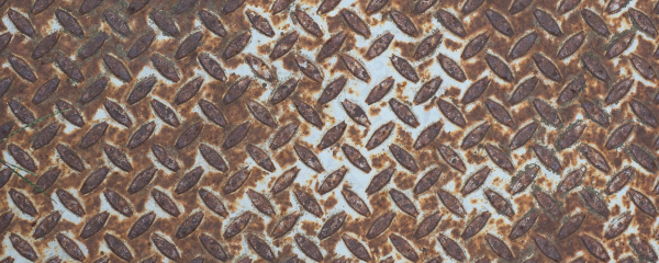 wide, brown, rusted, steel, texture, background - 28240253