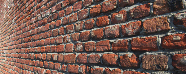 wide, red, bricks - 28240109