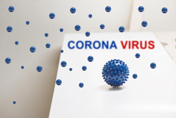 shot of microscope virus close up