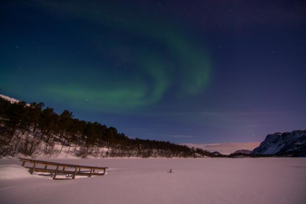 aurora borealis mattisvannet alta norway