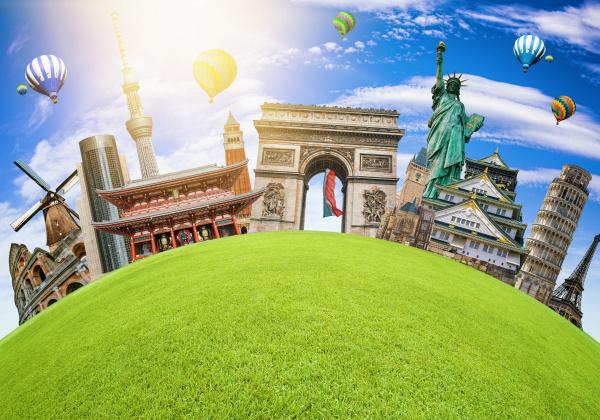 famous landmarks of the world grouped