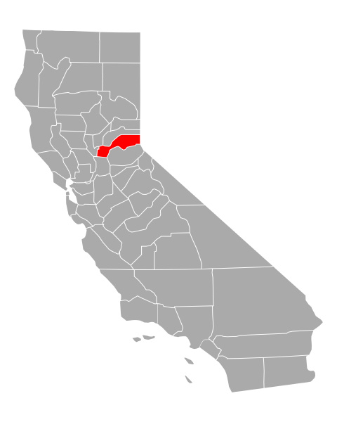 map of placer in california