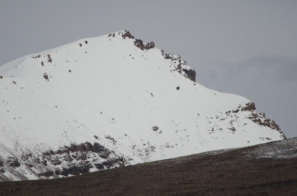 snowy peak in the lauca national