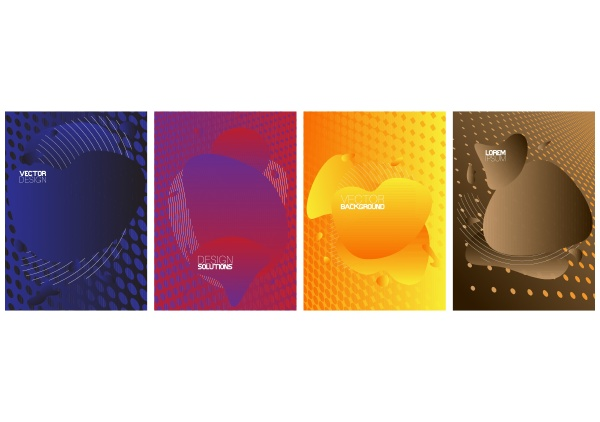 modern, poster, template, set, with, geometric - 28257643
