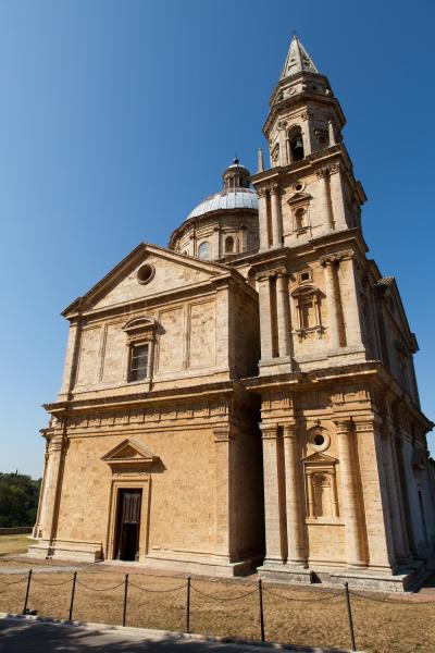 the sanctuary of the madonna di