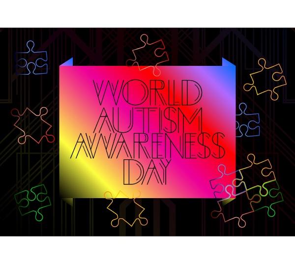art deco world autism awareness day
