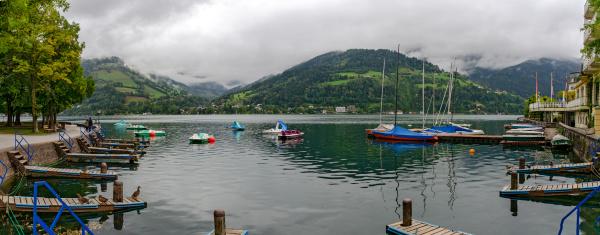 morning at zeller lake