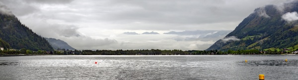 morning at the zeller lake