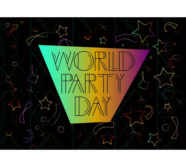 art deco world party day