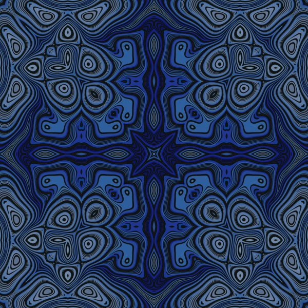 blue seamless repeating pattern tile