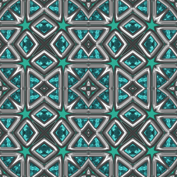 turquoise seamless repeating pattern tile
