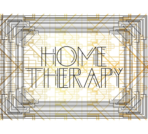 art deco home therapy text