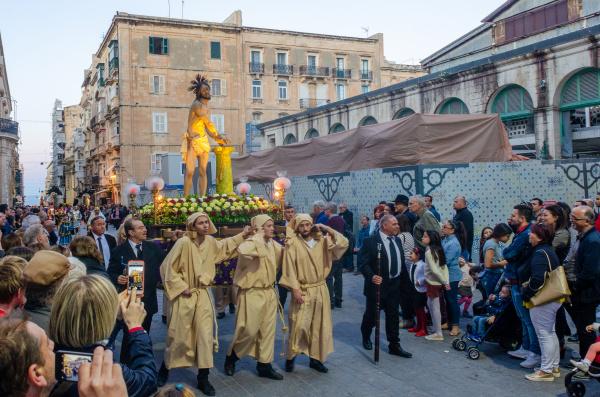 good friday procession valleta malta