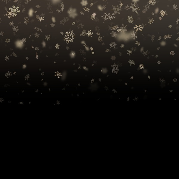 falling snow flake 4