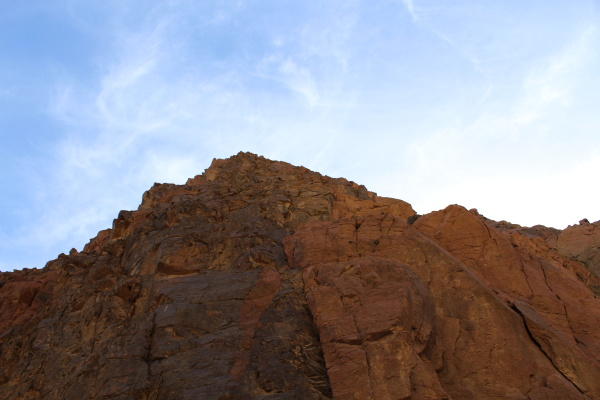 mountain canyons for the granite and