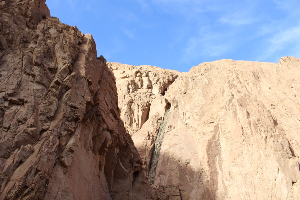 beautiful canyon in egypt