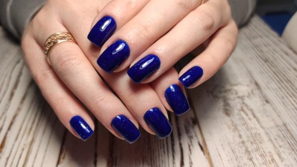 youth manicure design beautiful female