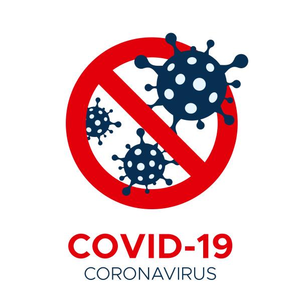 coronavirus covid 19 vector prohibition sign