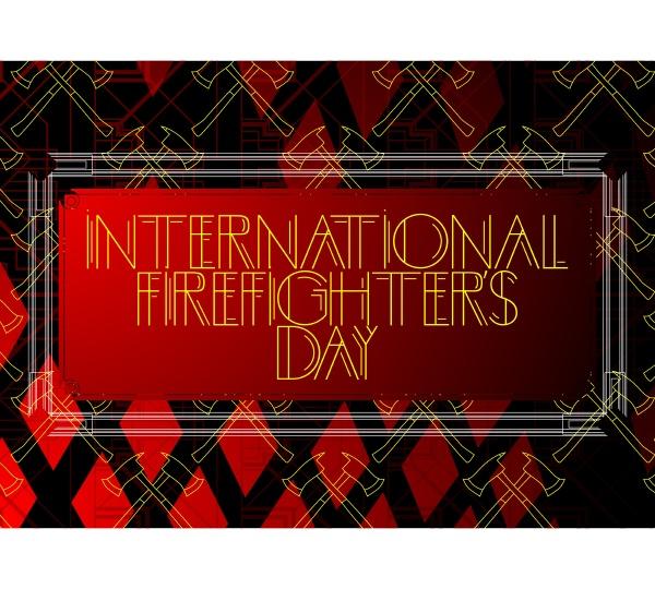 art deco international firefighters day