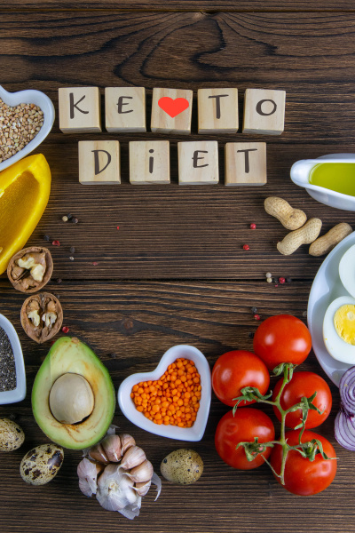 keto diet vegetables and nuts