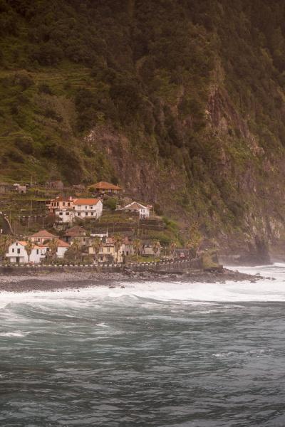portugal madeira porto moniz coast