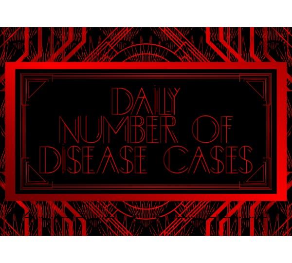 art deco daily number of disease