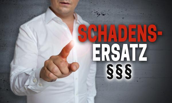 schadensersatz in german compensation