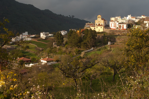 village of las lagunetas in san
