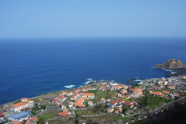 madeira view of porto moniz