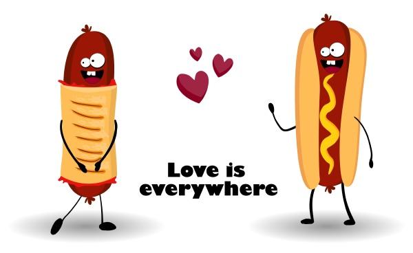 funny hot dog hot dog