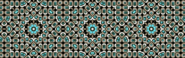 seamless repeating silver teal rhinestone border