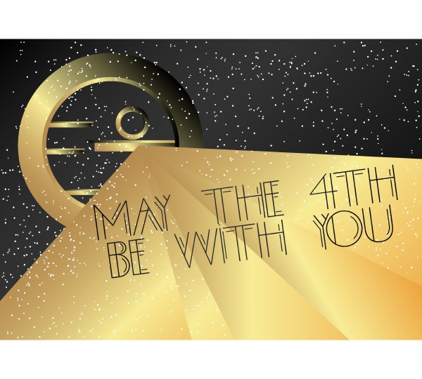 art deco may the 4th be