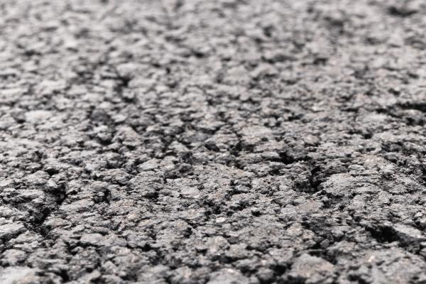 asphalt road focused foreground