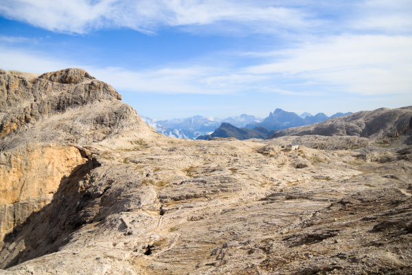 dolomites landscape rosetta plateau san martino