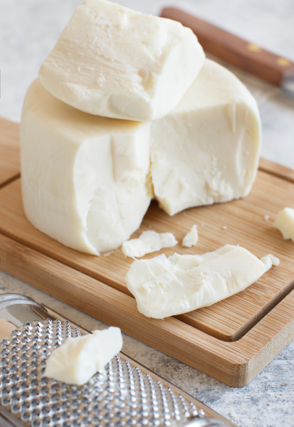 south italian cheese cacioricotta with a
