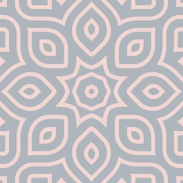 retro pastel seamless repeating pattern tile
