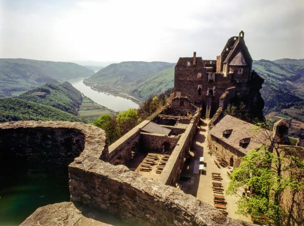 castle aggstein austria