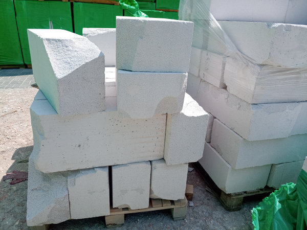 storage of gas block at the