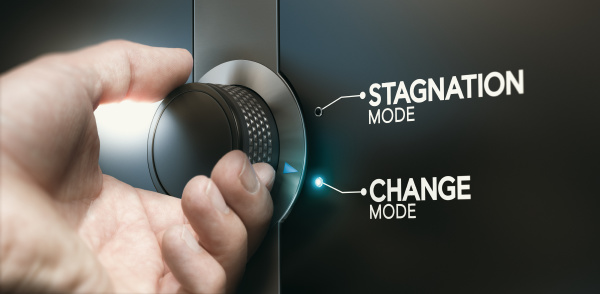 overcoming stagnation switching career to