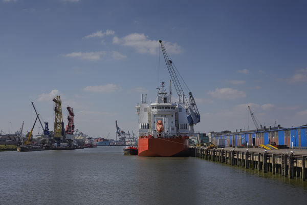 cargo port of rotterdam the largest