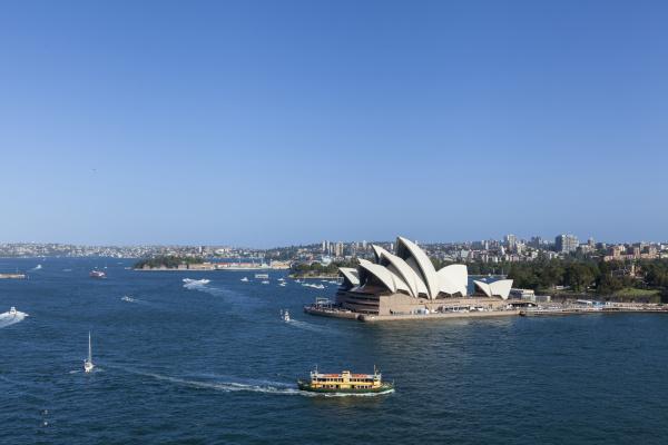 australia sydney cbd landmarks around sydney