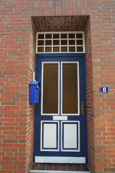 old front door in the