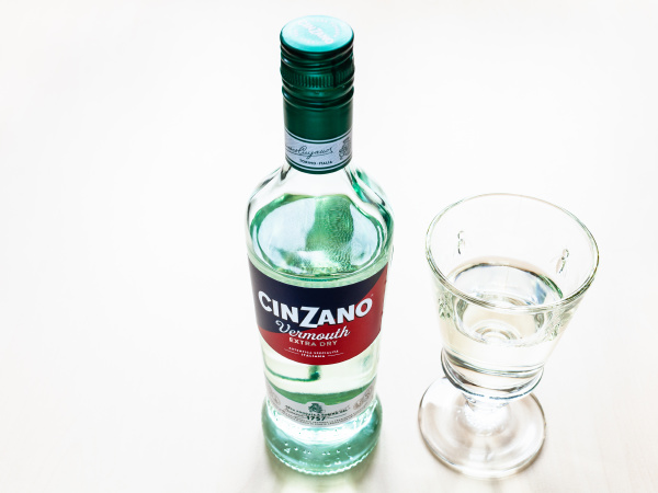 bottle, of, cinzano, extra, dry, and - 28519025