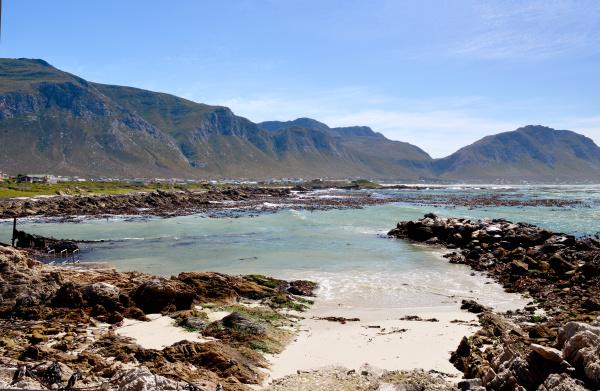coastal landscape boulders beach belongs to