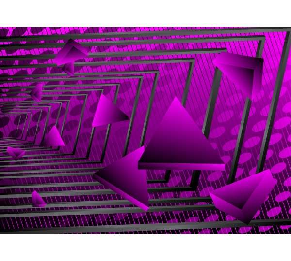purple and black triangles premium exclusive