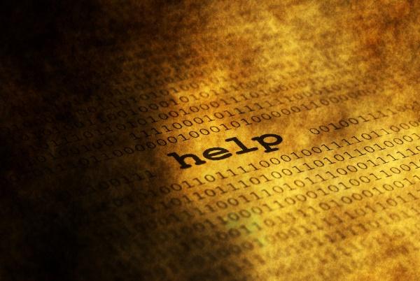 help over binary data