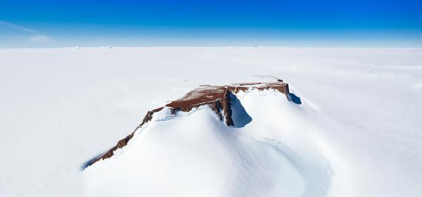 panoramic aerial view of sanae iv
