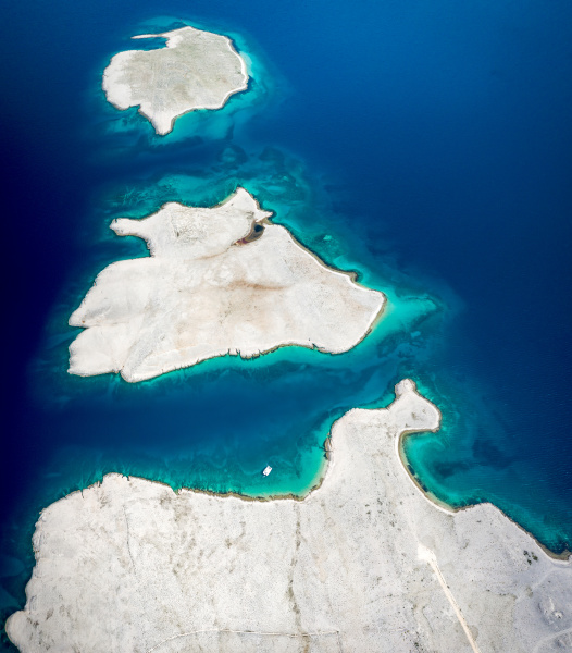 aerial view of islands in vlasici