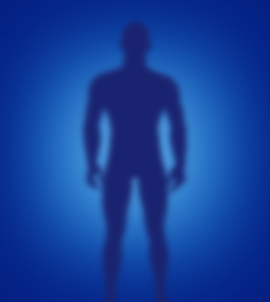 scary figure silhouette