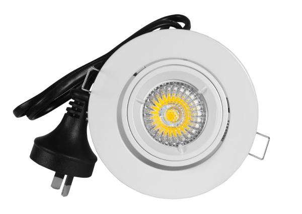economical light lamp isolated on white